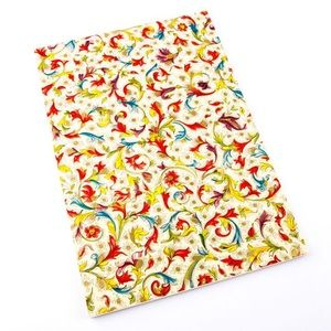 Other - Florentine Florals Large Notepad